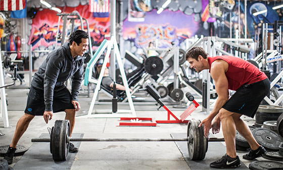 Хороший партнер по тренировкам сделает тренировочный процесс более приятным.