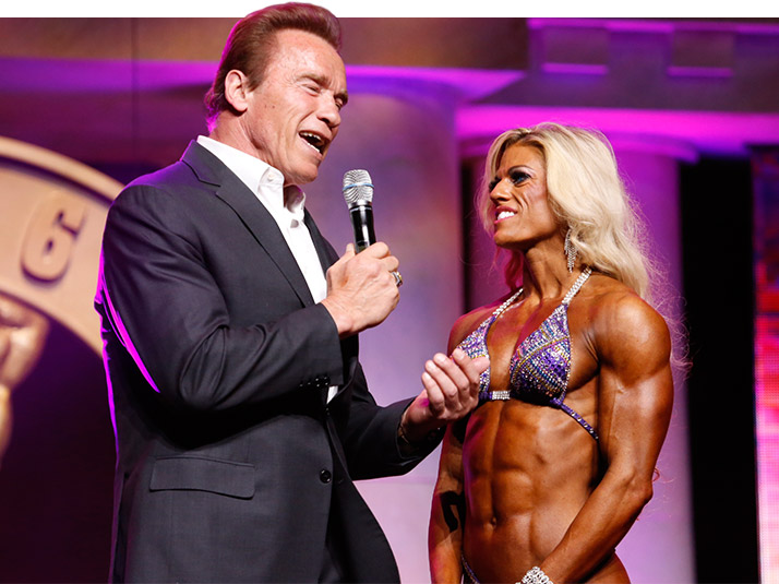 Победительница Arnold Women's Physique International — Аутамн Свонсон