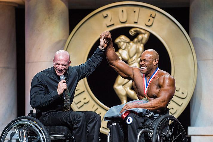 Победитель Arnold Classic Pro Wheelchair — Гарольд Килей