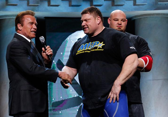 Победитель Arnold Strongman Classic (не дисциплина IFBB) — Zydrunas Savickas