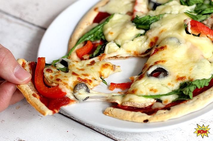 Рецепт протеиновой пиццы!
