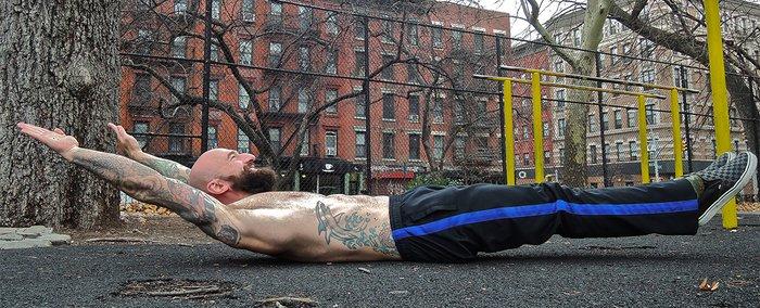 Упражнение «полое тело»